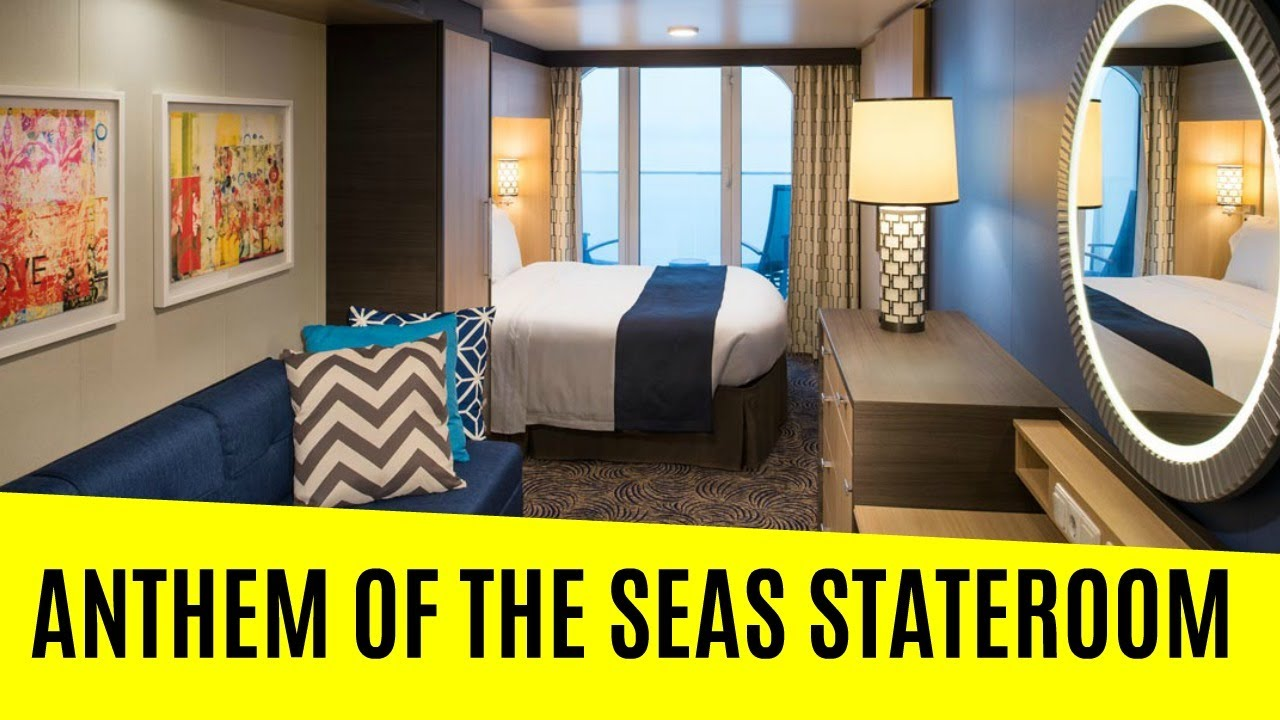 Anthem of the seas stateroom tour youtube for Anthem of the seas inside cabins
