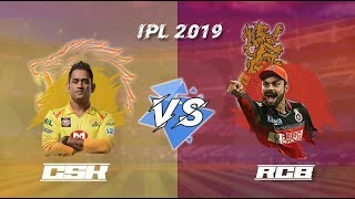 CSK Vs RCB IPL Full Match Highlights 2019 Live Streaming - Ashes Cricket Gameplay