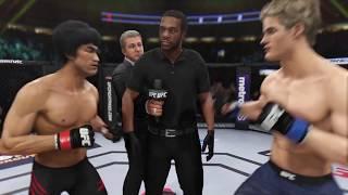 Bruce Lee vs. Sage Northcutt (EA sports UFC 3) - CPU vs. CPU