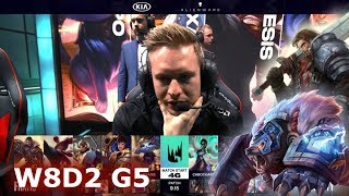 Fnatic vs Vitality | Week 8 Day 2 S9 LEC Summer 2019 | FNC vs VIT W8D2