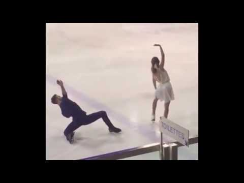 Gabriella Papadakis / Guillaume Cizeron - SD  ▷ Masters – Villard-de-Lans 7/oct/ 2016