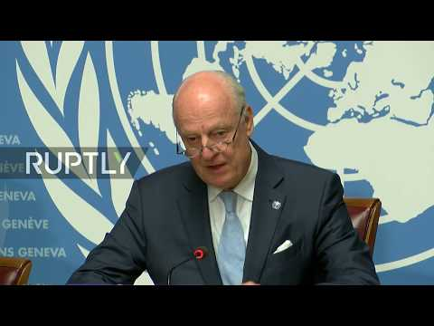 LIVE: De Mistura rounds up 7th Syria talks in Geneva