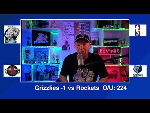 Memphis Grizzlies vs Houston Rockets 2/4/21 Free NBA Pick and Prediction NBA Betting Tips