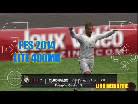 TERBARU!!!! Cara Download Dan Pasang Game Pes 2014 Lite PPSSPP