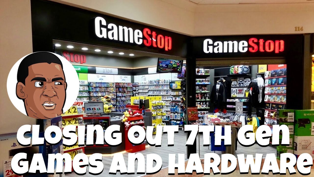 Gamstop getting rid of 7th Gen and online prices raising