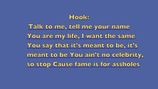 Fame Is For Assholes (F.I.F.A.)- Hoodie Allen (Feat: Chiddy) - Lyrics Mp3