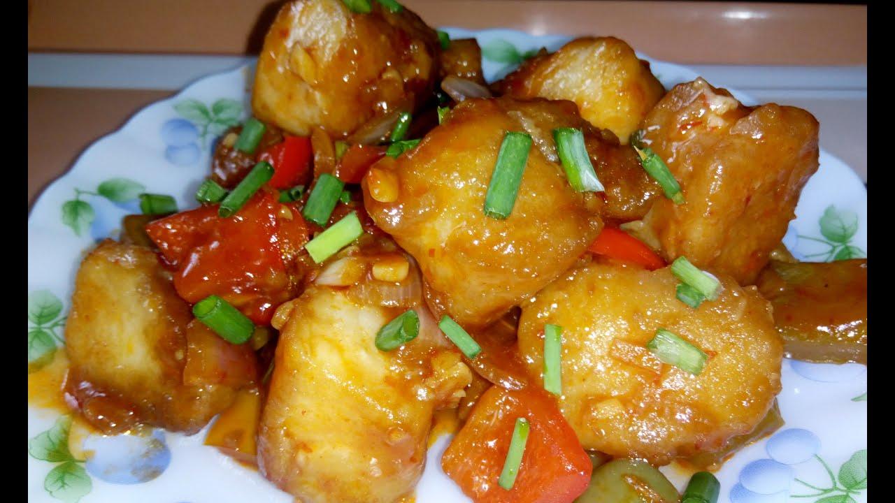 Chilli Fish Recipe Indo Chinese Fish Recipe Youtube