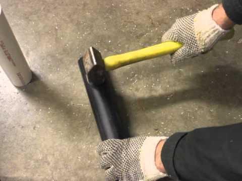 PVC vs HDPE Fireworks mortar tube