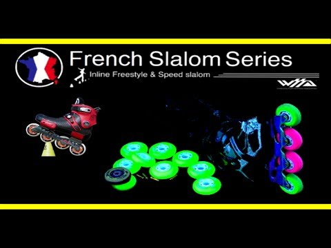 Roller Slalom Freestyle (WORLD SLALOM SERIES Paris) - inline Battel PSWC 2014