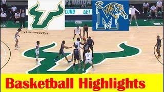 Memphis vs South Florida Basketball Game Highlights 3 2 2021 screenshot 3