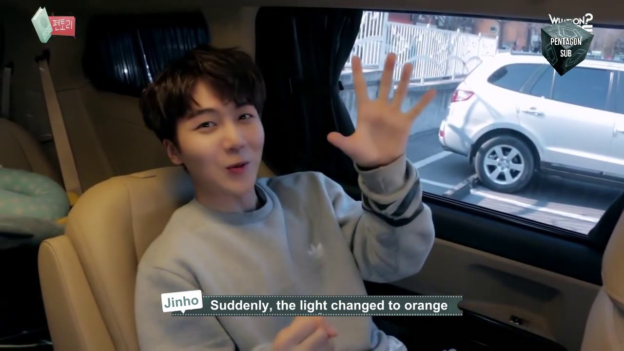 [ENG SUB] PENTAGON펜타곤  To Do List - Jinho get's his drivers license!
