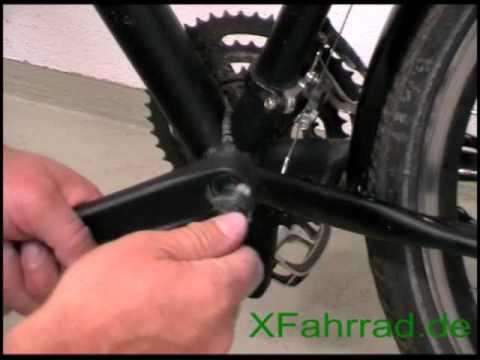 fahrrad pedale lösen