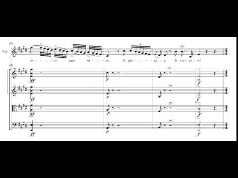 Una voce poco fa from Il Barbiere di Siviglia - Score
