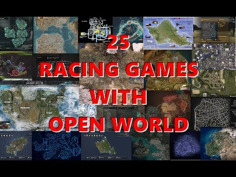 25 Racing Games With 'open World' For PC