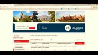 видео заявка на визу