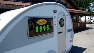 SOLD! 2006 Dutchmen T@B T3 Retro Style Teardrop Camper , 1400 Pounds, $8,995