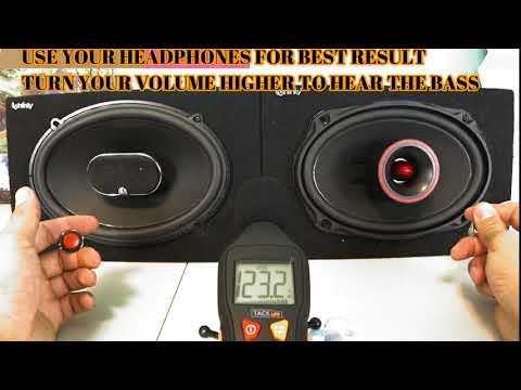 Its So Bad! Infinity Kappa 693.11I 220W 6x9 VS Pioneer TS6900PRO PRO 6x9 Full review Bass Test