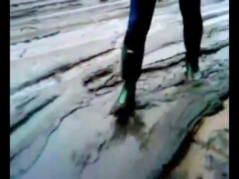 MSV. Any puddles flooding  -  to clean my HUNTER original green rubber boots.