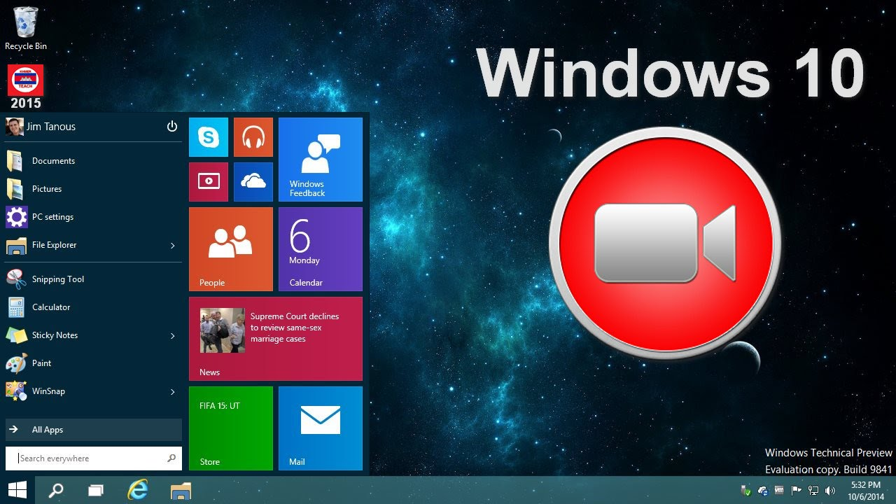 Screen Recorder free download software for Windows 10 - YouTube