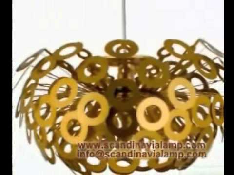 Dandelion Pendant Light Designed by Richard Hutten