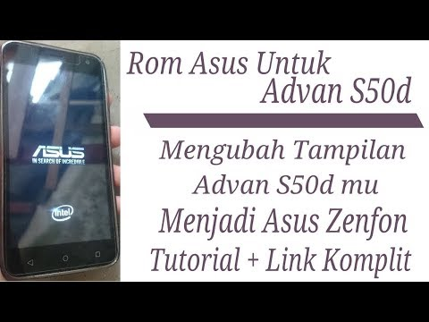 How To CusTom Rom ASUS For Advan S50D