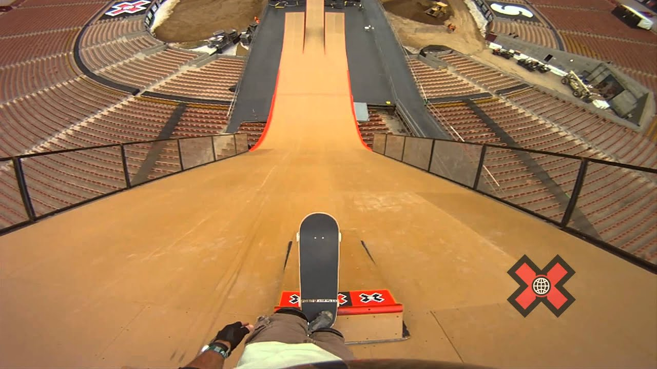 X Games Skateboard Big Air