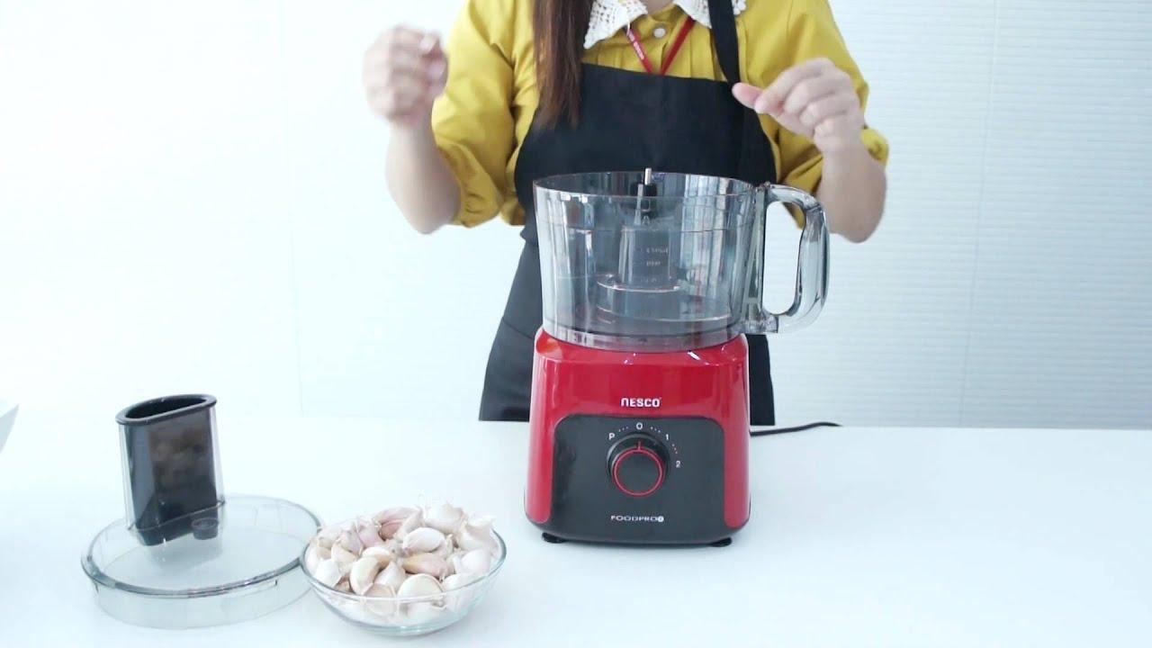 เครื่องเตรียมอาหาร Food Processor NC-58900 By Nesco