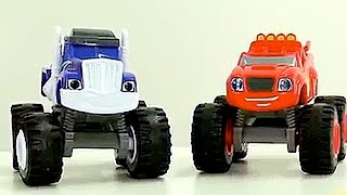 Monster trucks - Big trucks for kids - Blaze and the Monster Machines toys