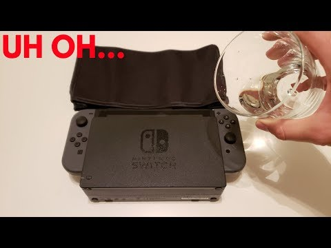 How To Keep Your Nintendo Switch Water-Free!! (Switch Dust Cover Review)