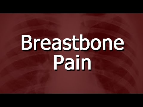 Behind bone Burning breast