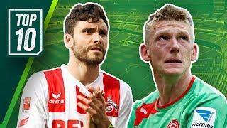Köln, Nürnberg, Frankfurt! Die überraschendsten Absteiger der Bundesliga-Geschichte!