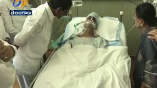 CM KCR Consoles | TS Irrigation Adviser Vidyasagar Rao | In Hospital at Hyderabad