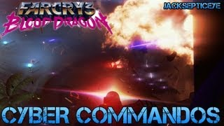 Far Cry 3 Blood Dragon - CYBER COMMANDOS - Gameplay Walkthrough Part 1 - PC Max Settings