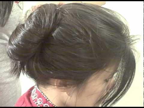 Nepali Bride Hair Dressing Youtube