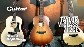 Watch Taylor's Andy Powers demo the stunning V-Class 712ce #NAMM2019