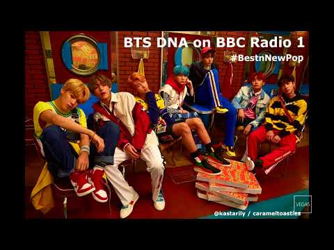 BTS DNA on BBC Radio 1 #BestInNewPop [02/10/17]