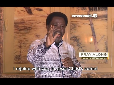 Download STAY AND COPE WITH GOOD AND HARD TIMES! Prayer with T.B. Joshua