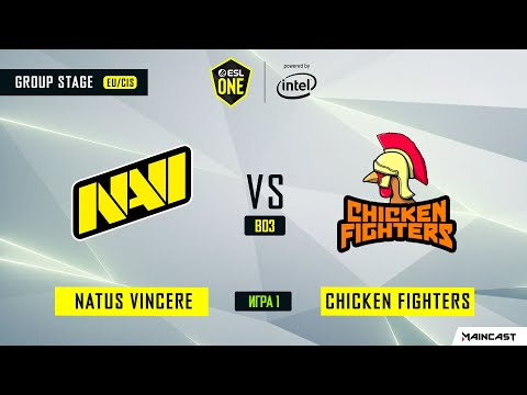 NaVi vs Chicken Fighters vod