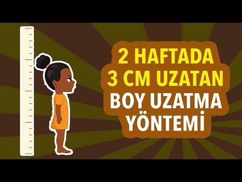 2 HAFTADA 3 CM Uzatan Muhteşem Boy Uzatma Yöntemi