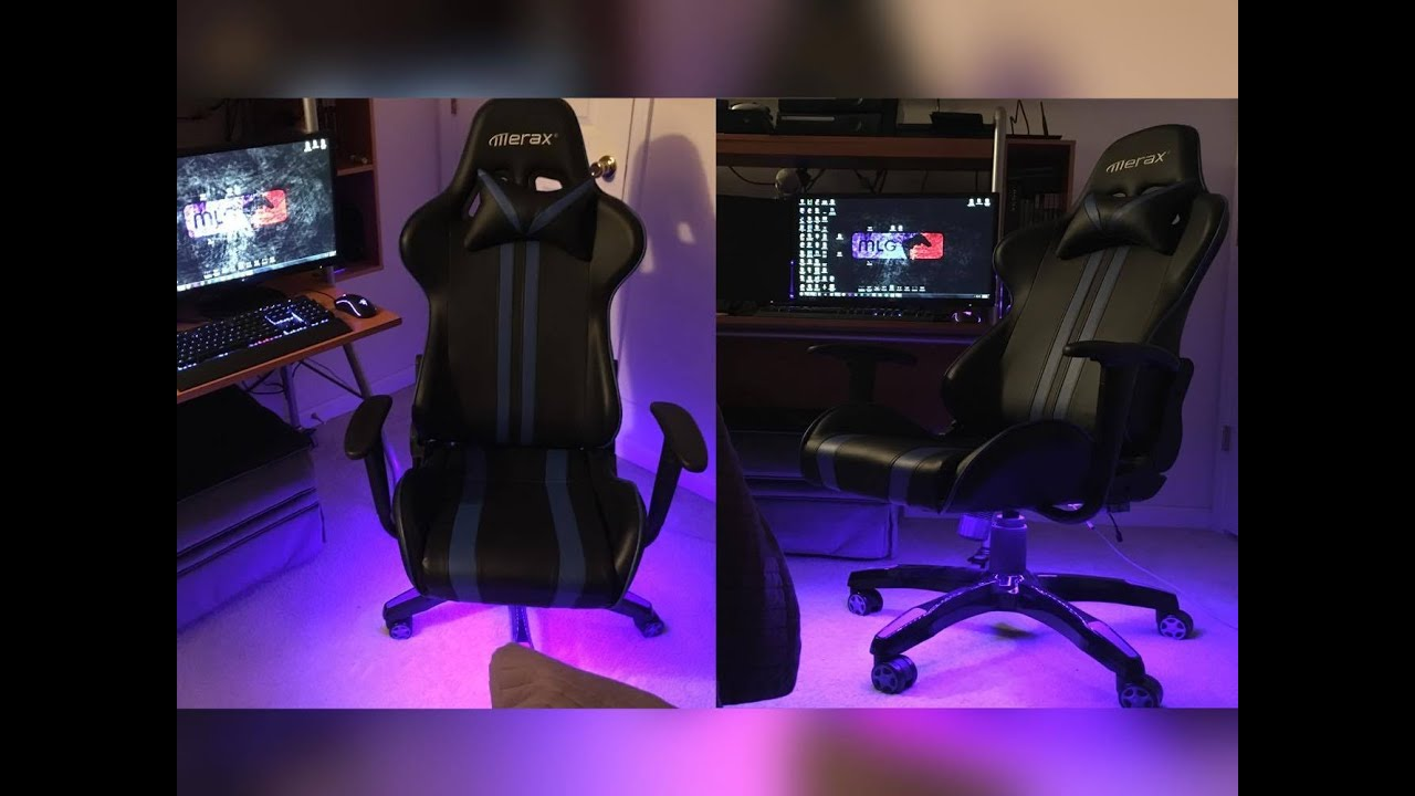 Custom Led Gaming Chair   Sharkyu0027s Customs