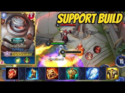 PLAYING OMEGA SUPPORT BEFORE THE NEW BUFF | AoV | 傳說對決 | RoV | Liên Quân Mobile