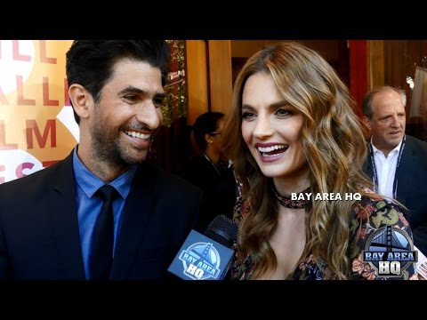 STANA KATIC INTERVIEW & ARRIVAL! RAZA JAFFREY on THE RENDEZVOUS! MILL VALLEY FILM FESTIVAL, CASTLE