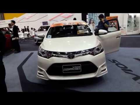 Toyota New vios exclusive สีขาวมุก