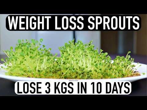 Chia Seeds For Weight Loss | Lose Weight Fast 3Kg in 10 Days | How to Make Chia Sprouts/MicroGreens
