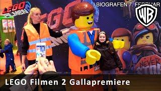 LEGO Filmen 2 - Gallapremiere i København
