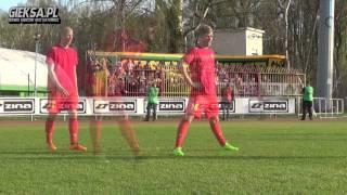 Znicz Pruszków 1:4 GKS Katowice 04.04.2017 doping