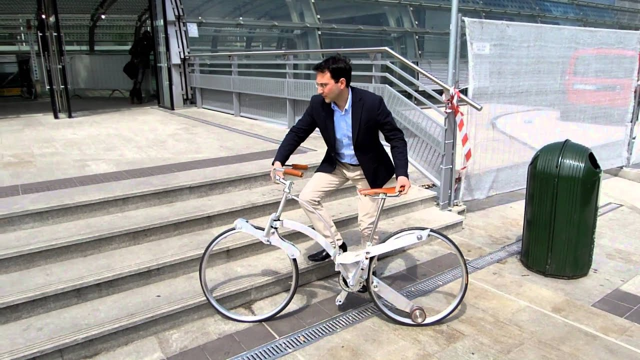 Patent An Idea >> Sada Gianluca - Hubless Foldable Sada Bike - Eurobike ...