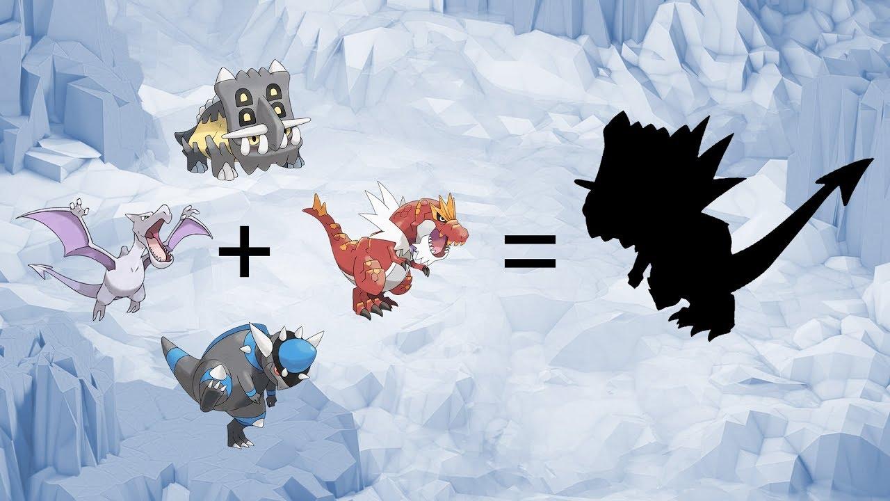 Pokemon Fusion Requests 101 Tyrantrum Bastiodon Rampardos Aerodactyl