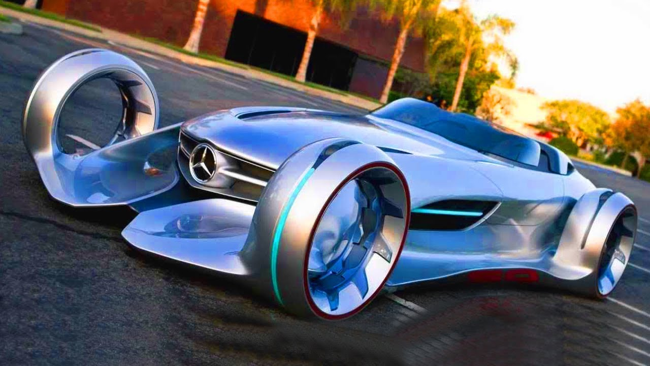 5 Mercedes-Benz Concept Cars Of The FUTURE - YouTube