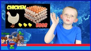 THE TRUTH ABOUT CHICKEN EGGS | VEGAN KIDS